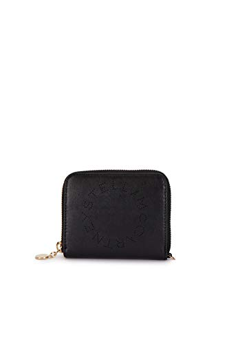 Luxury Fashion | Stella Mccartney Dames 570271W85421000 Zwart Kunstleer Portemonnees | Lente-zomer 20