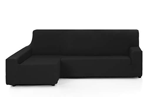 Martina Home Tunez, Copridivano elastico, Nero, BRAZO IZQUIERDO (visto de frente) 240 cm a 280 cm
