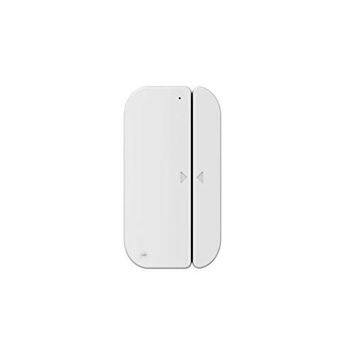 Hama WiFi Tür-Fenster-Kontakt (ohne Hub, Fenster-/Tür-Sensor mit Magnetkontakt, Alarm-Benachrichtigung aufs Handy, 2,4GHz, gratis App, Batterie-Betrieb) WLAN Fensteralarm/Türalarm