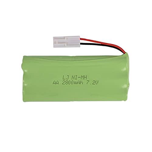 7.2v 2800mah batería Juguetes eléctricos batería RC Coche Barco Robot baterías Recargables Red
