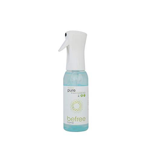 Ambientador ecológico Biodegradable, sin propelentes ni tóxicos. Desodorizante de olores, bloquea y neutraliza. Elimina olores en Spray 500ml Aroma a Limpio. Befree Pure.