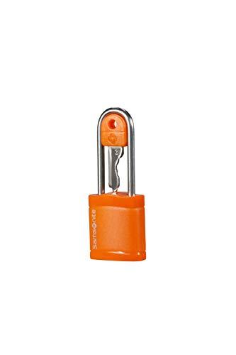 Samsonite Global Travel Accessories - Schloss mit Schlüssel, 6 cm, Orange