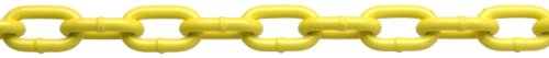 Campbell PD0725027 System 3 Grade 30 Low Carbon Steel Proof Coil Chain on Reel, Yellow Polycoated, 3/16