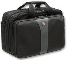 """Wenger 600655 Legacy - Funda para portátil de 17"""", color negro y gris"""