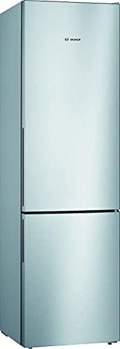 Bosch Elettrodomestici KGV39VLEAS Serie 4, Frigo-congelatore combinato da libero posizionamento, 201 x 60 cm, inox look