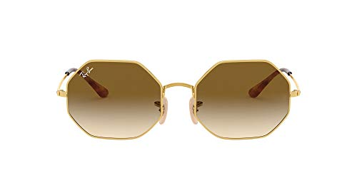 Ray-Ban RB1972 914751 54 - Ouro/Marrom Claro Degradê