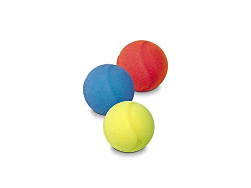 Mondo Toys - Bolsa Tres Pelotas espuma, 70mm, colores surtidos