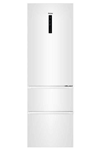 Haier AFE735CMJ Kühl-Gefrierkombination Weiß Kühlschrank Gefrierschrank
