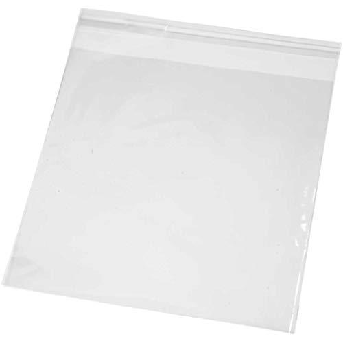 Cellophane Tassen, B: 16 cm, H: 16 cm, 200 stuks