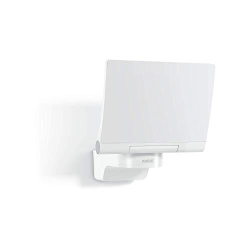 Steinel LED Strahler XLED PRO 240 SL V2 Weiß, 19.5 W Flutlicht, 3000 K warmweiß, 2120 lm, inkl. Eckwandhalter