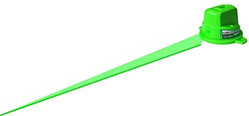 Danpon グリーンレーザー墨出し器 フロアライン 1本 高輝度 緑色ライン マグネット付き 360°回転 内装工事 小型 非球面ガラスレンズ 採用VH-66G