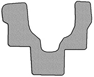 Avery's Floor Mats Part Compatible with Ford Club Wagon/Econoline E350 Floor Mat Carpet Custom Fit Replacement 1 pc Front Gray Fits 1999-2005