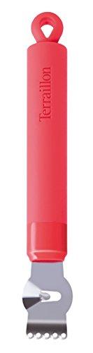 Terraillon 14051 Zesteur, Silicone, Agrumes, 17,5 x 2,5 x 1 cm
