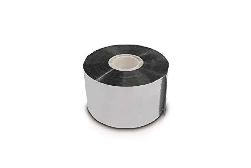 Steinwolle Rohrisolierung Rohrschale alukaschiert Rohrisolation EnEV (50mmx50m Klebe)