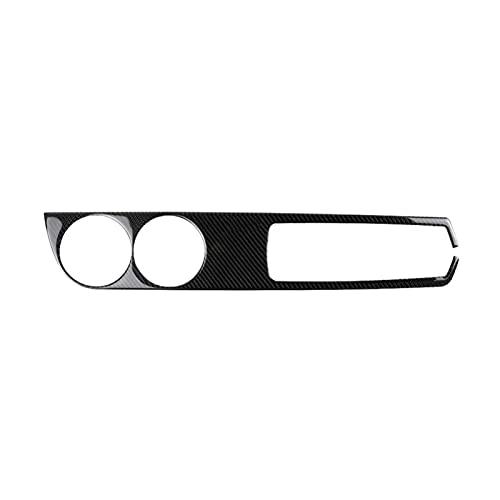 CWGHH Etiqueta engomada de la Caja de Almacenamiento del Panel de la Taza de Agua de la conducción Derecha del Coche de la Fibra de Carbono Apta para Lexus IS250 Детали Интерьера Accesorios del c