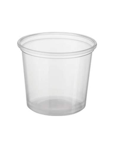Plastiknahrungsmittelbehälter 150ml x 50