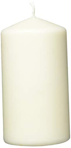 Jeden Tag Stumpenkerze 128 x 68 mm crème, 6er Pack(6 x 360 g)