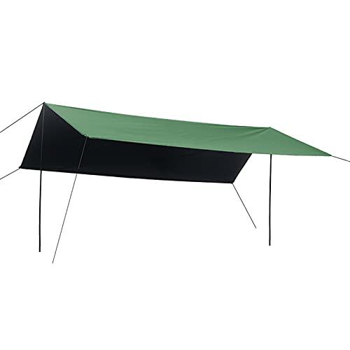 Beach Zelte Sun Shade Shelter Camping Überdachungszelt Wasserdicht regendicht Angeln Sonnencreme und UV-Schutz Großes Pergola-Tuch für den Außenbereich,Green,3 * 4.5mi