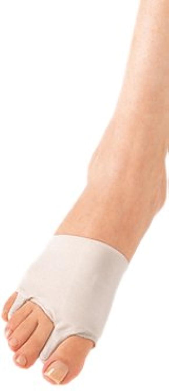 納得させるブルーム咽頭ソルボ外反母趾?内反小趾サポーター(薄型)?Lサイズ(25.5~27.0cm)左足用 ベージュ