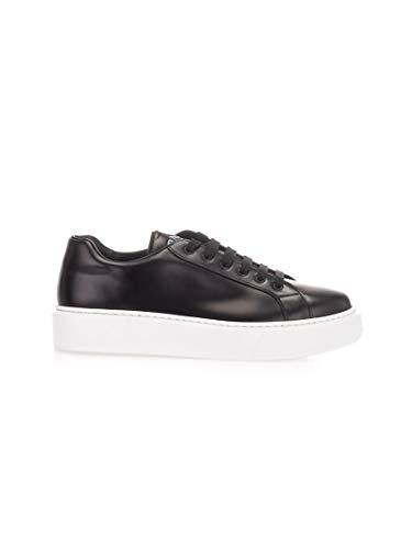 Luxury Fashion | Prada Linea Rossa Heren 4E3489B4LF0967 Zwart Leer Sneakers | Lente-zomer 20