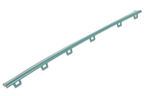 Hochwertige Frontlippe Mitnehmer Kehr-lippe passend für Vorwerk Elektrobürste EB360 EB370 Gummilippe Wischlippe vordere Lippe Gummi-Lippe
