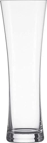 Schott Zwiesel Beer Basic 2-teiliges Weizenbierglas Set, Kristall, farblos, 8.55 cm, 2-Einheiten
