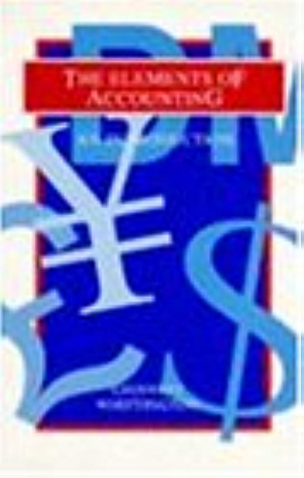 確率ソフィーそこからThe Elements of Accounting: An Introduction