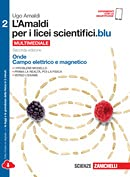 KIT LIBRO SCOLASTICO AMALDI 2 X LICEI SCIENTIFICI.BLU 1 Copertina trasparente Cavalierini e Evidenziatore colore vario (9788808937391)