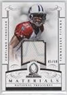 Cortland Finnegan #45/68 (Football Card) 2014 Panini National Treasures - Pro Bowl Materials #PB-CF09
