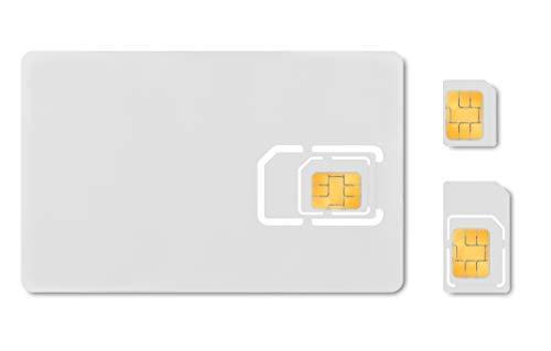 WHITE LABEL DATEN-SIM-Karte für IOT und M2M - Things Mobile - mit weltweiter Netzabdeckung und Mehrfachanbieternetz GSM/2G/3G/4G. Ohne Fixkosten und ohne Verfallsdatum. 10 € Guthaben inklusive