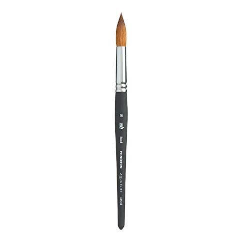 Princeton Aqua Elite NextGen Artist Brush, Series 4850 Synthetic Kolinsky Sable for Watercolor, Round, Size 16