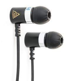 Earbuds in-Ear Headphones/Earphones : Noise Isolating with Powerful Massive Bass Driver, The Absolute IEM, Ultra Clear Highs and Mids from Dynamic Dual Drivers : The Audiophile Elite