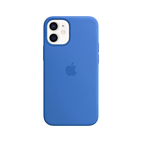 Apple Funda de Silicona con MagSafe (para el iPhone 12 Mini) - Azul Capri