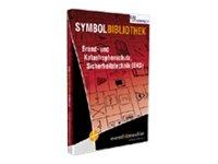 AutoSketch Bibliothek Brand-Katastrophenschutz für AutoSketch 2007-10