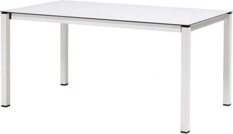 Scab Ausziehbarer Gartentisch aus HPL 160/210 x 90 cm, weiß matt - 2418_VB_10