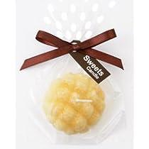 sweets candle スイーツキャンドルプチスイーツキャンドル6 パンBA636-05 キャンドル (こちらの商品の内訳は『番号(melonbread)/メロンパン(81)』のみ)