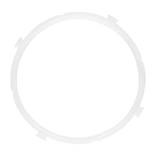 Compatible Pressure Cooker Sealing Rings Replacement Rubber Electric Rubber Gasket Sealing Gasket for Midea Instant Pot and Crock Pot Kitchen Tool 5L-6L Durable and Useful Easy to use pulabo