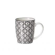 Flirt by R&B Geschirr-Serie Takeo Leaves Material Kaffeebecher 350 ml Takeo Leaves
