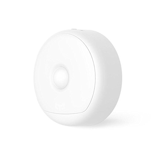 Desconocido Generic Xiaomi Yee Light ylyd 01yl LED Infrarrojos kãrper Sensor de Movimiento luz Nocturna USB magnética Recargables lámpara