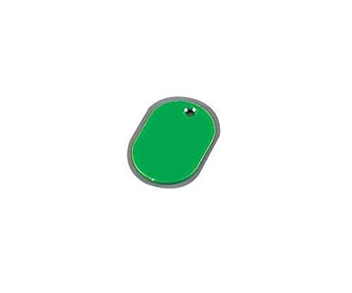 スチロール 番号札(無地) 小 グリーン(100枚入)/62-6776-86