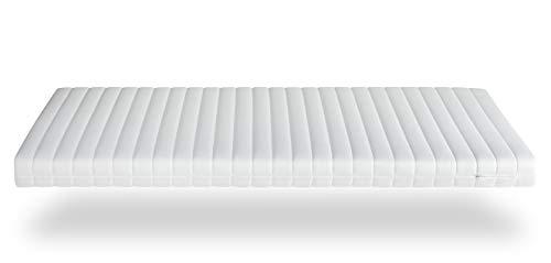 Träumegut24 - 10cm Orthopädische Kaltschaum Matratzenauflage Matratzen Topper Matratzenschoner Härtegrad wählbar H2 / H3 (140 x 200 cm, H3)