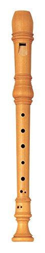 Yamaha yrs-61artigianale castello legno, chiave di C flauto soprano con diteggiatura barocca