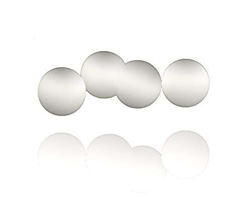 Shishakugel Set Ø 9, 10, 11 oder 12 mm (4er Set Deluxe) für viele Shishas - Ventilkugel für Wasserpfeife - Shisha Kugel