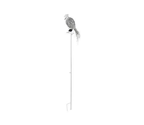 Eglo 47784Solar lámpara de pie, madera, integrado, Color blanco