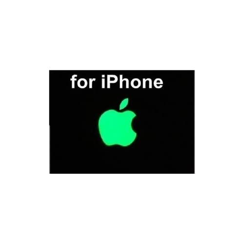 95ac4f6aa GADGETS WRAP Apple Logo Stickers-Glow in The Dark Stickers for iPhone 6, 6S