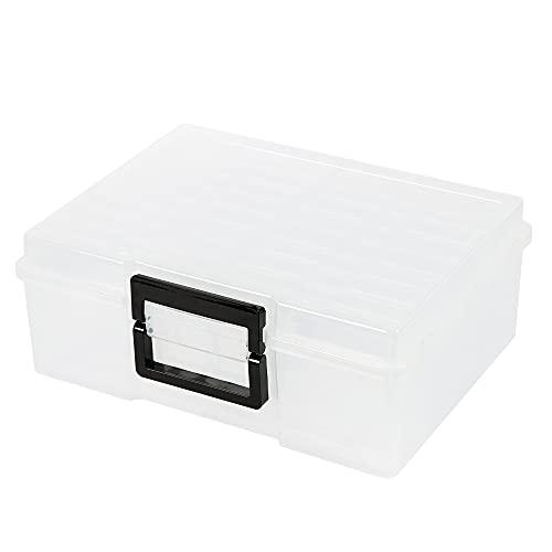 Photo Case 5' x 7' Photo Box Storage and Craft Keeper - 18 Inner Photo Keeper...