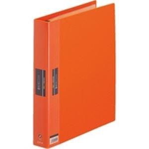 (業務用3セット) キングジム ヒクタス クリアファイル/バインダータイプ 【A4/タテ型】 7139W オレンジ(橙)