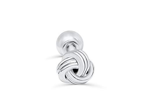 ONDAISY Stainless Steel Love Celtic Bow Tie The Knot Ear Barbell Ball Stud Earring Piercing