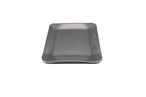 oka-d-art 黒皮鉄板 スモールタイプ 【黒皮鉄板単品 穴なし/有り 】 Mタイプ 150角用 (穴有り, 3.2)