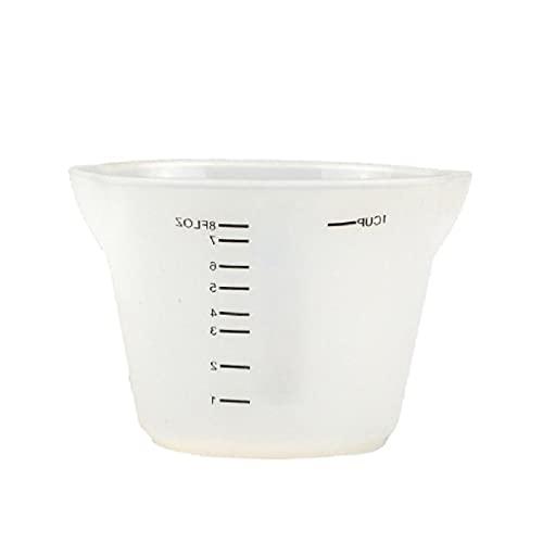 500 ml y 250 ml de silicona reutilizable tazas de medición de resina tazas de mezcla de epoxi joyas moldes de fundición de pintura acrílica tazas de medición para fundición de resina